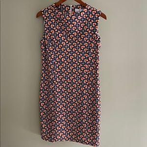 Jude Connally size medium sleeveless sheath dress